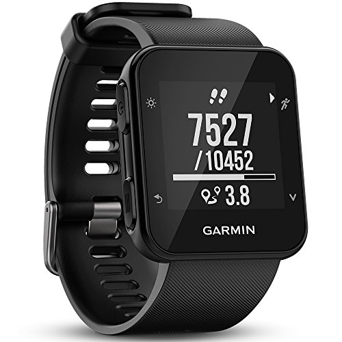 Garmin Forerunner 35 GPS-Laufuhr, Herzfrequenzmessung am Handgelenk, Smart Notifications, Lauffunktionen (Garmin Fit Uhr)