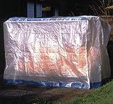 DANDLER Schutzhülle für Gartenschaukel 3-Sitzer, transparent, 36 x 24 x 9 cm, 562177