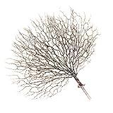 non-brand Sharplace Künstliche Koralle Zweige Kunstpflanze Kunstblume Kunstzweige Wie Pfau, Schöne Blumendeko für Haus Büro - Kaffee