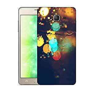 Snoogg Rain lights Designer Protective Back Case Cover For Samsung Galaxy On7 Pro
