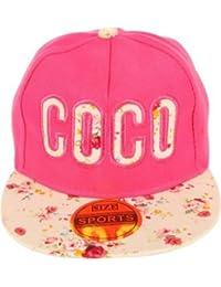 42a6e0ea9a5 ILU Kid s Cotton Snapback Hiphop Cap Pink Freesize