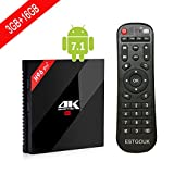 [2017 New Arrivals] H96 PRO+ Android 7.1 TV Box ,3GB RAM 16GB ROM Amlogic S912 64 bit Octo-core 4K Ultra HD TV Box ,Supports 2.4G/5G Dual Wifi 1000M LAN Ethernet Bluetooth 4.1