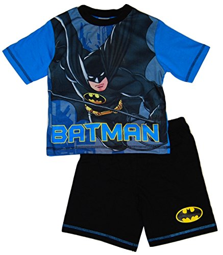 Batman Boys Short Summer Pyjamas DC Comics