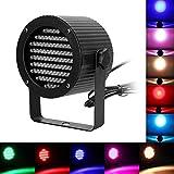 Amzdeal® DMX-512 86 LED luci Fase nere Luci di scena professionali DJ KTV Disco Party luce della fase della discoteca Lampada del partito DISCOTECA EFFETTO LUCI