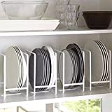 #7: NAOE Steel Plate Organizing Rack (Set fo 2)(White)