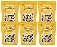 Harveys Crunchy & Creame Gourmet Delicacies Cream Wafer Biscuit 110 g Pouch Pack - Vanilla Flavoured (Pack of 6)