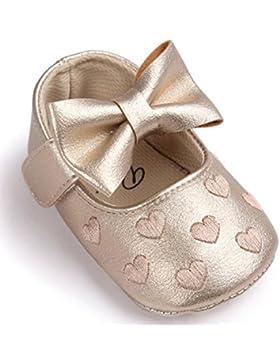 Vovotrade Baby Bowknot-Lederschuhe Sneaker Anti-Rutsch-weiche Sohle Kleinkind