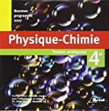 Physique-Chimie 4e CD-ROM