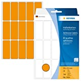 Herma 2414 - Etiquetas multiuso, 20x50 mm, papel mate, 360 unidades, color naranja luminoso