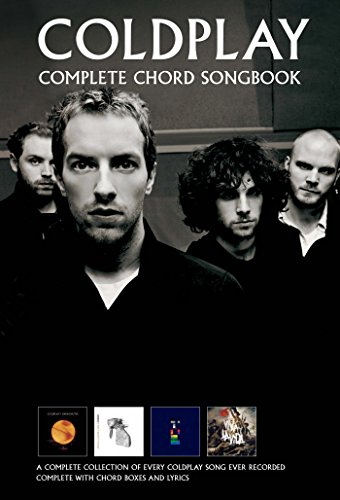 Coldplay Complete Chord Songbook Amazon Coldplay Books