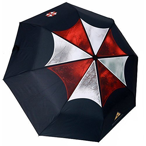mylifeunit-resident-evil-umbrella-corporation-ombrello-pieghevole-automatico-compatto