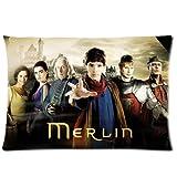andersonfgytyh Merlin Season 1Poster Morbido Cuscino di 50,8x 76,2cm (Entrambi i Lati) Federa con Zip