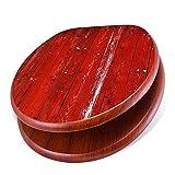banjado Design Toilettensitz mit Absenkautomatik, WC-Sitz Holz, Klodeckel mit Metall Scharnieren, Toilettendeckel mit Motiv Rote Holzlatten