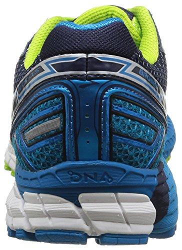 Brooks Adrenaline GTS 15, Chaussures de Running Compétition homme Bleu - Blau (Peacoat/Atlantic/LimeGreen)
