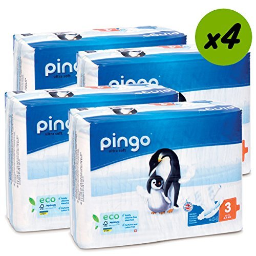 Couches PINGO Taille 3 4/9kg (176 couches)