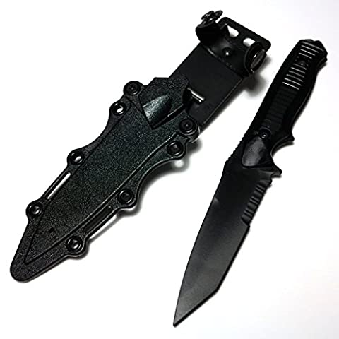 Airsoft Gear Parts Accessories CYMA Soft Rubber Plastic 141 Nimravus Tanto Knife(Non-Sharp Fake Knife) with Sheath