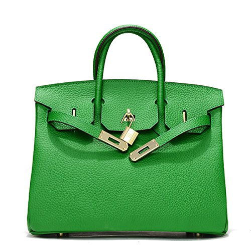 Platinum Lychee Modello Spoof Leather Mini Europa E Le Borse Degli Stati Uniti Green
