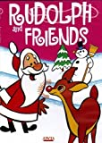Locandina Rudolph & Friends: Rudolph the Red Nosed Reindeer+The Christmas Visitor+Merrie Melodies, The Shanty Where Santy Claus Lives+The Candle maker+The Little Angel+Santa and The 3 Bears-(Color Toned & Color)(Slim Case)(Vintage Cartoon)