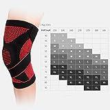 Rodilleras movimiento protector aire libre protección de la rodilla corriendo(1 par 2 pc)-A XL