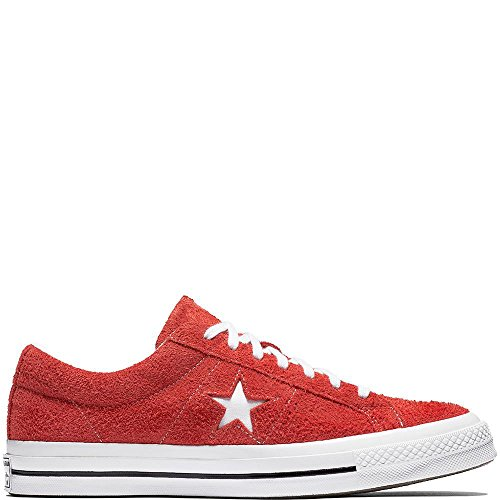 Converse One Star (Converse Unisex-Erwachsene Lifestyle One Star Ox Sneakers, Rot (Deep Bordeaux White 625), 38 EU)