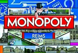 Winning Moves - 0031 - Jeu de Société - Monopoly - Reims