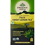 Organic India Tulsi Sweet Lemon Tea, 25 Tea Bags