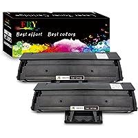 EBY 2 Cartouche de Toner Samsung MLT-D111S 111S Compatible pour Samsung Xpress SL-M2078 SL-M2070 SL-M2026 SL-M2022 SL-M2020 SL-M2026W SL-M2022W SL-M2070FW SL-M2070W SL-M2078W