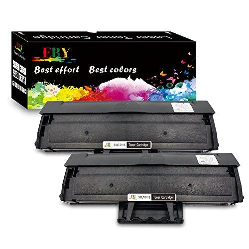 EBY 2 Schwarz Kompatibel Tonerkartuschen Samsung MLT-D111S, D111S, 111S, MLTD111S Toner für Samsung Xpress M2070 M2070W M2020 M2026 M2070FW M2026W M2022W M2022 M2020W