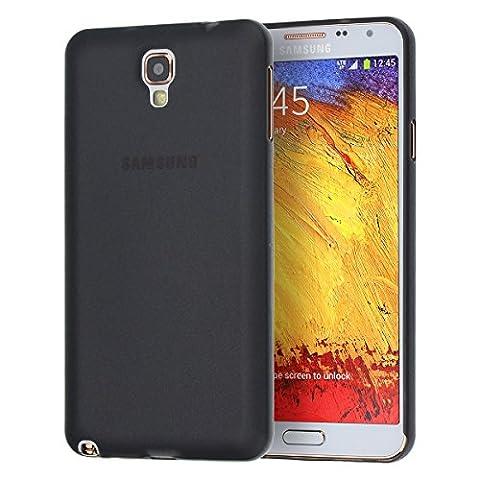 doupi UltraSlim Case für Samsung Galaxy Note 3 Neo Note III Neo FeinMatt FederLeicht Hülle Bumper Cover Schutz Tasche Schale,