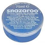 Snazaroo - Colorazione per viso e corpo, 75 ml, colore: Blu