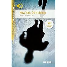 New York 24h chrono niv. A2 - Livre + mp3