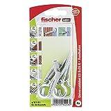 Fischer Universaldübel UX RH K SBKarte, 4 Stück, 6 x 35 mm, 94248