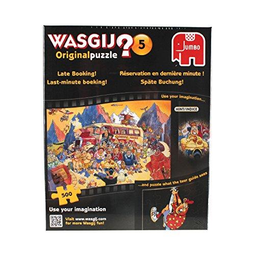 Jumbo 17116 - Wasgij Original 5 - Last-Minute-Buchung, 500 Teile Puzzle