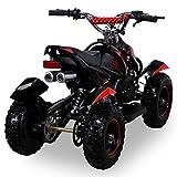 Miniquad Kinder Cobra ATV  rot / schwarz - 4