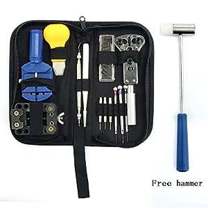 yuda professonal Montre Réparation Outils Kit de qualité haut de gamme Décapsuleur Lien Remover outil de bar printemps avec étui de transport