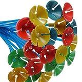 Hemore 100 Palos de plástico para decoración de Globos,, 25,4 cm