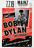 TheConcertPoster Bob Dylan - Live! In Person!, Mainz 2019  