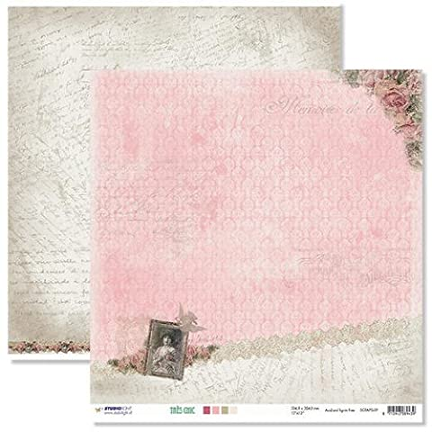 Studio Light 12x12 Double Sided Paper - Tres Chic #09