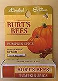 Burt's Bees Edition Limited Pumpkin Spic...