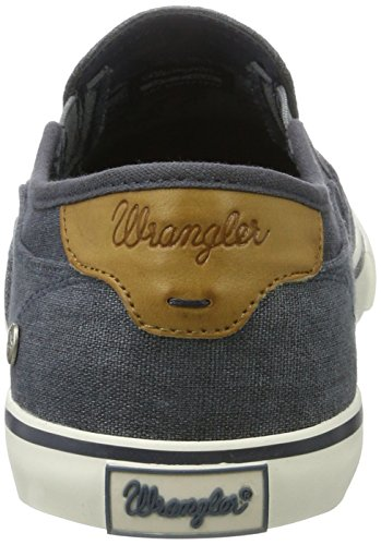 Wrangler Mitos Slip On, Sneakers basses homme Bleu Marine