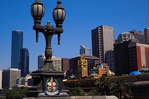 567085 City From Prince's Bridge Melbourne Australia A4 Photo Poster Print 10x8