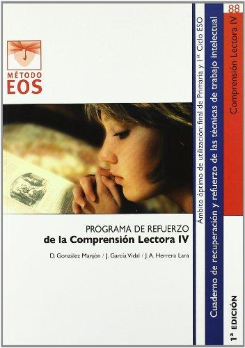 Comprensión lectora IV (Método EOS)
