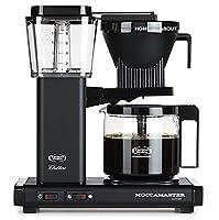 Moccamaster KBG 741 AO Drip coffee maker 1.25L 10cups Black - coffee makers (freestanding, Semi-auto, Drip coffee maker, Ground coffee, Black, Jug)