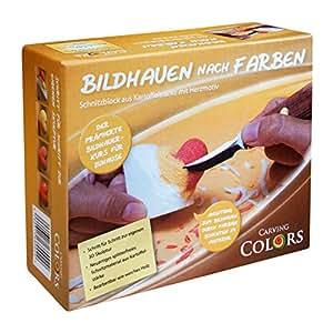 CarvingColors Schnitzen / Bildhauen nach Farben für Kinder und Erwachsene