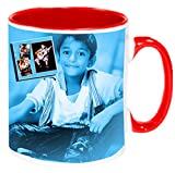 Pyramidmart Personalized 3 Tone Color Inside Ceramic Mug - 11 oz - Customize with Your Own Photos & Text