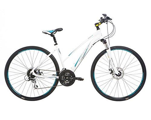 Indigo Verso X3 - Bicicleta híbrida para mujer,...