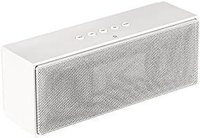 AmazonBasics Portable Bluetooth Speakers (White)