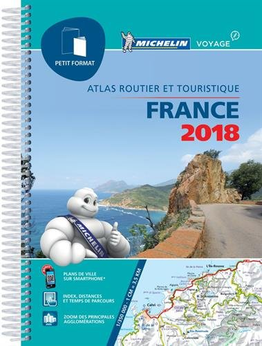 Atlas France Petit Format Michelin 2018