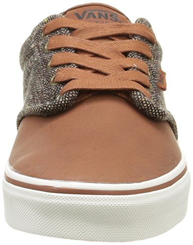 Vans Herren Atwood Deluxe Low-Top Braun (Tweed Tortoise/Marshmallow)