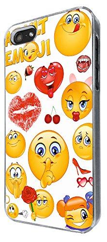 901 - Adult Cool Smiley Faces emoji Funky Design iphone 5 5S Coque Fashion Trend Case Coque Protection Cover plastique et métal
